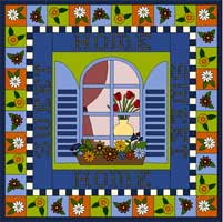 My Dream House Quilt Project - Home Sweet Home